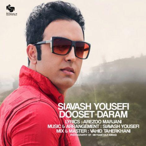 Siavash Yousefi - 'Dooset Daram'