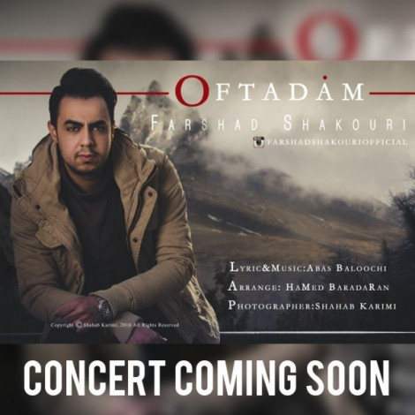 Farshad Shakouri - 'Oftadam'