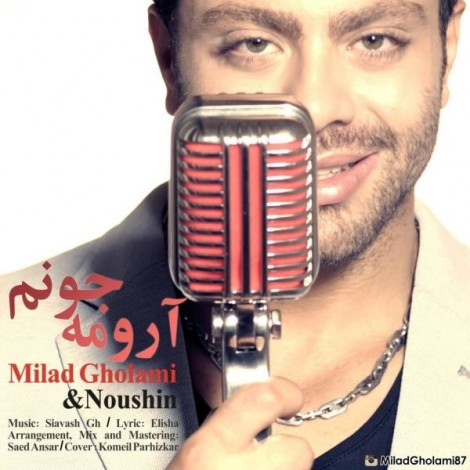 Milad Gholami - 'Aroome Jonam'
