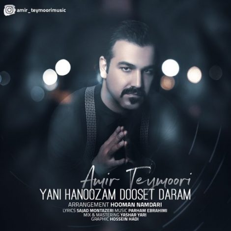 Amir Teymoori - 'Yani Hanoozam Dooset Daram'
