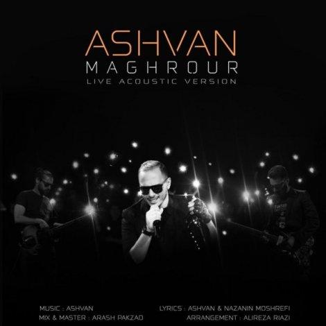 Ashvan - 'Maghrour (Acoustic Version)'